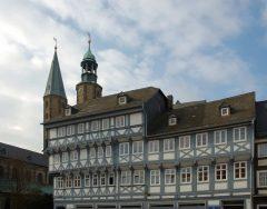 Bindingsverk, Goslar, Nieder-Sachsen, Unesco Verdensarv, Altstadt, Historisk, Middelalder, Markt, Nord-Tyskland, Tyskland