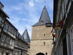 Breites Tor, Goslar, Nieder-Sachsen, Unesco Verdensarv, Altstadt, Historisk, Middelalder, Markt, Nord-Tyskland, Tyskland