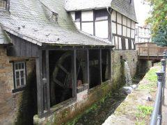Lohmühle, Goslar, Nieder-Sachsen, Unesco Verdensarv, Altstadt, Historisk, Middelalder, Markt, Nord-Tyskland, Tyskland