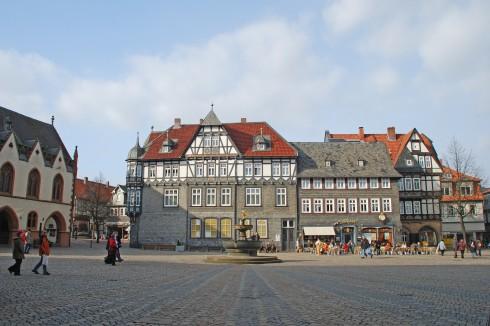 Goslar, Nieder-Sachsen, Unesco Verdensarv, Altstadt, Historisk, Middelalder, Hauptmarkt, Nord-Tyskland, Tyskland