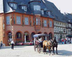 Hotel Kaiserworth, Goslar, Nieder-Sachsen, Unesco Verdensarv, Altstadt, Historisk, Middelalder, Hauptmarkt, Nord-Tyskland, Tyskland