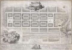 James Craig Map, New Town, Edinburgh, Skottland, Storbritannia