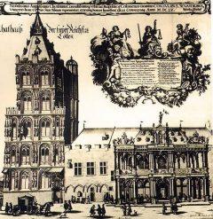 Altes Rathaus, Altstadt, Köln, Nordrhein-Westfalen, Vest-Tyskland, Tyskland