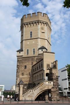 Bayenturm, Altstadt, Köln, Nordrhein-Westfalen, Vest-Tyskland, Tyskland
