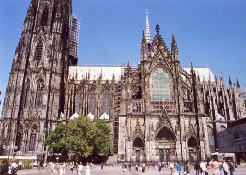 Altstadt, Kölner Dom, Köln, Nordrhein-Westfalen, Vest-Tyskland, Tyskland