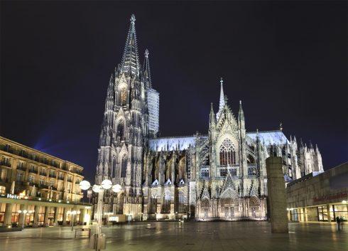 Altstadt, Kölnerdomen, Römisch-Germanisches Museum, Köln, Nordrhein-Westfalen, Vest-Tyskland, Tyskland