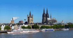 Kölnerdom, Altstadt, Köln, Nordrhein-Westfalen, Vest-Tyskland, Tyskland