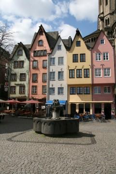 Fischmarkt, Martinviertel, Altstadt, Köln, Nordrhein-Westfalen, Vest-Tyskland, Tyskland