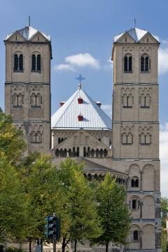 St Gereon, Altstadt, Köln, Nordrhein-Westfalen, Vest-Tyskland, Tyskland