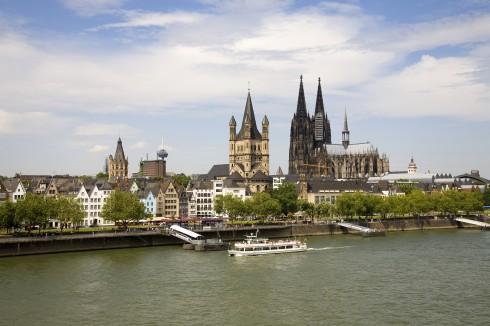 Altstadt, Gross St Martin, Köln, Nordrhein-Westfalen, Vest-Tyskland, Tyskland