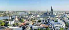 Rhein, Altstadt, Köln, Nordrhein-Westfalen, Vest-Tyskland, Tyskland