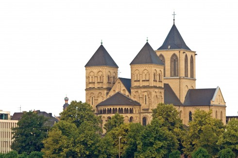 Altstadt, St Kunibert-Kirche, Köln, Nordrhein-Westfalen, Vest-Tyskland, Tyskland