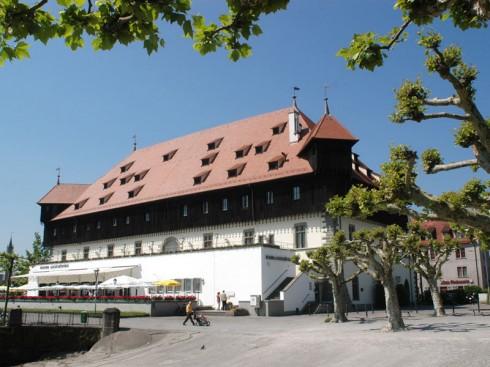 Konsilbygningen, Middelalder, Konstanz, Bodensee, Sør-Tyskland, Tyskland
