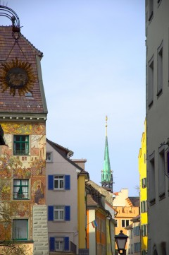 arkitektur, Konstanz, Bodensee, Sør-Tyskland, Tyskland