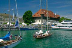 Konsilbygget, Middelalder, Konstanz, Bodensee, Sør-Tyskland, Tyskland