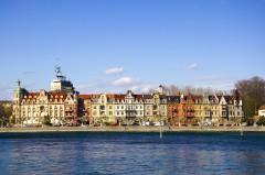 Musikerviertel, Konstanz, Bodensee, Sør-Tyskland, Tyskland