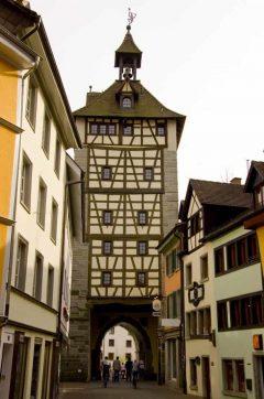 Schnetztor, Konstanz, Bodensee, Sør-Tyskland, Tyskland