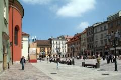 Krakow, Unesco Verdensarv, Basilica Santa Maria, gamlebyen Stare Miasto, historisk bydel, middelalder, markedsplass Rynek Glowny, Kazimierz, Sør-Polen, Polen