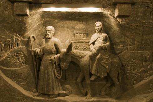 Wieliczka-gruven, Krakow, Unesco Verdensarv, middelalder, Sør-Polen, Polen