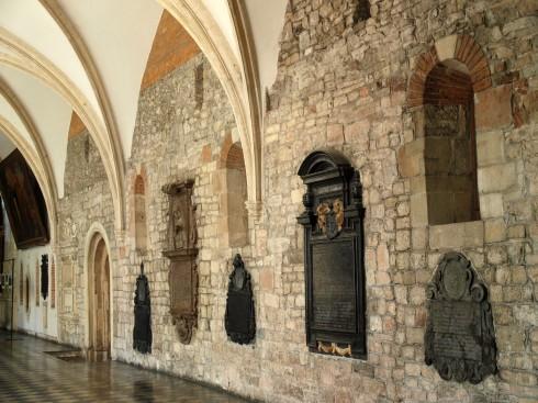 Treenighetskirken, The Holy Trinity Church, Krakow, Unesco Verdensarv, gamlebyen Stare Miasto, historisk bydel, middelalder, markedsplass Rynek Glowny, Sør-Polen, Polen