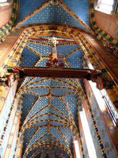 St Maria, Krakow, Unesco Verdensarv, gamlebyen Stare Miasto, historisk bydel, middelalder, markedsplass Rynek Glowny, Sør-Polen, Polen