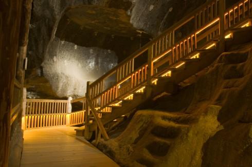saltgruven Wieliczka, 10 km utenfor Krakow, Unesco Verdensarv, middelalder, Sør-Polen, Polen