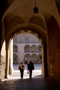 Wawel-slottet, Krakow, Unesco Verdensarv, gamlebyen Stare Miasto, historisk bydel, middelalder, markedsplass Rynek Glowny, Sør-Polen, Polen