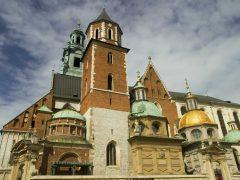 Wawel, Krakow, Unesco Verdensarv, gamlebyen Stare Miasto, historisk bydel, middelalder, markedsplass Rynek Glowny, Sør-Polen, Polen