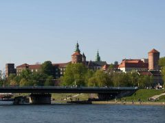 Wawelborgen, Krakow, Unesco Verdensarv, gamlebyen Stare Miasto, historisk bydel, middelalder, markedsplass Rynek Glowny, Sør-Polen, Polen