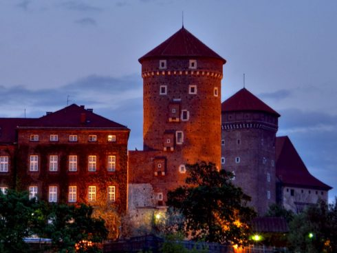 Krakow, Unesco Verdensarv, Basilica Santa Maria, gamlebyen Stare Miasto, historisk bydel, middelalder, markedsplass Rynek Glowny, Wawelborgen, Kazimierz, Sør-Polen, Polen