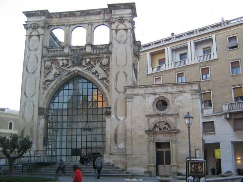 Chiesetta di San Marco fra 1543, Lecce, Puglia, Sør-Italia, Italia