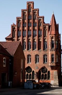 Haus der Schiffergesellschaft, Hansestadt Lübeck, Schleswig-Holstein, Hansaforbundet, Unesco Verdensarv, Altstadt, Historisk, Middelalder, Markt, Nord-Tyskland, Tyskland