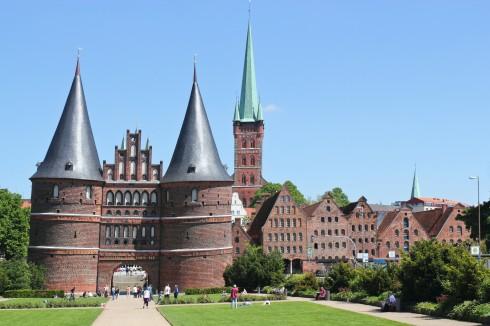 Lübeck, Schleswig-Holstein, Unesco Verdensarv, Altstadt, Historisk, Hansaforbundet, Middelalder, Markt, Nord-Tyskland, Tyskland