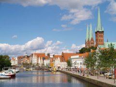 Hansestadt Lübeck, Schleswig-Holstein, Hansaforbundet, Unesco Verdensarv, Altstadt, Historisk, Middelalder, Markt, Nord-Tyskland, Tyskland