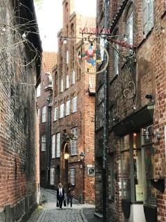 Lübeck, Trave, Østersjøen, middelalder, Backsteinsgotik, Ostsee, Unesco Verdensarv, Gamlebyen, Altstadt, Hansestadt Lübeck, Mecklenburg Vorpommern, Nord-Tyskland