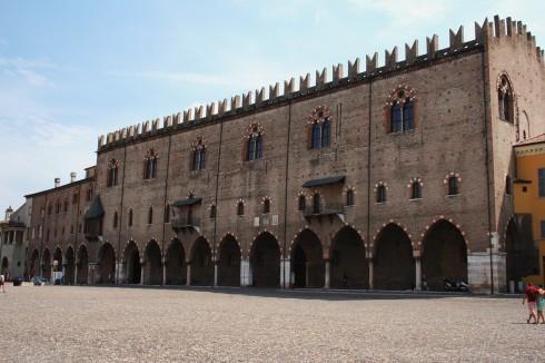 Palazzo del Capitano, Mantova, Lombardia, Nord-Italia, Italia