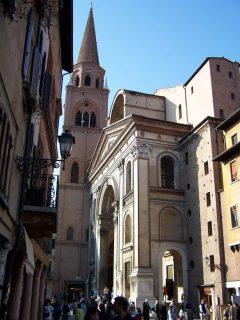 Mantovas Basilica Sant'Andrea, Leon Battista Alberti, Mantova, Lombardia, Nord-Italia, Italia