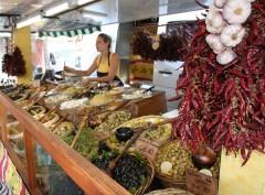 utendørsmarked, Unesco, Verdensarv, Arles, Provence, Sør-Frankrike, Frankrike
