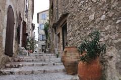 Gamlebyen, smug, Menton, Alpes Maritimes, Provence, Cote d'Azur, Sør-Frankrike, Frankrike
