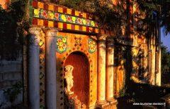Jardin Fontana Rosa, Menton, Alpes Maritimes, Provence, Cote d'Azur, Sør-Frankrike, Frankrike