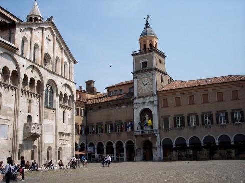Piazza Grande, Modena, Emilia Romagna, Nord-Italia, Italia
