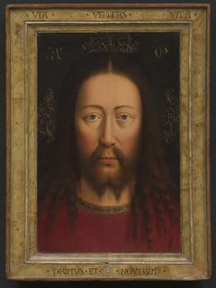 Jan van Eyck, selvportrett, Alte Pinakothek, Altstadt, München, Bayern, Sør-Tyskland, Tyskland