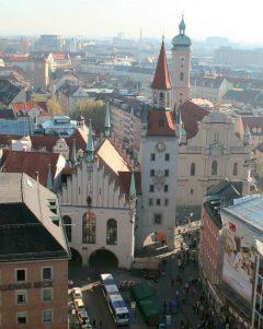 Altes Rathaus, Altstadt, München, Bayern, Sør-Tyskland, Tyskland