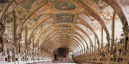 Antiquarium, Residenz-Museum, München, Bayern, Sør-Tyskland, Tyskland