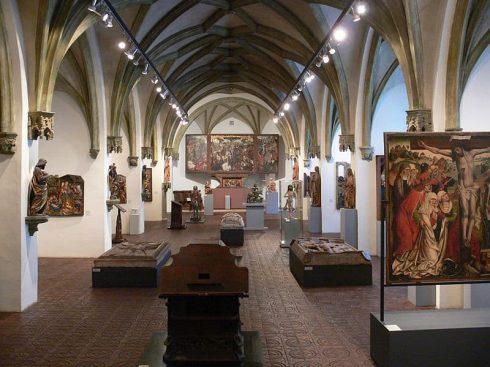 Bayerisches Nationalmuseum, München, Bayern, Sør-Tyskland, Tyskland