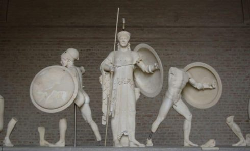 Aphaia-tempelet, Glyptothek, München, Bayern, Sør-Tyskland, Tyskland