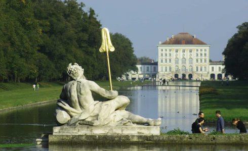 Schloss Nymphenburg, München, Bayern, Sør-Tyskland, Tyskland