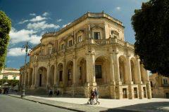 Palazzo Ducesio, Palazzo Municipio, Barokken, Noto, Sicilia, Italia