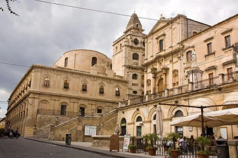 San Salvatore, Parrocchio San Francesco di Assissi, Noto, Sicilia, Italia