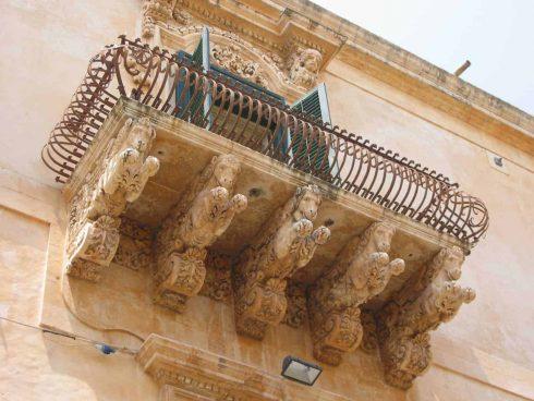 Palazzo Villadorata, Noto, Sicilia, Italia